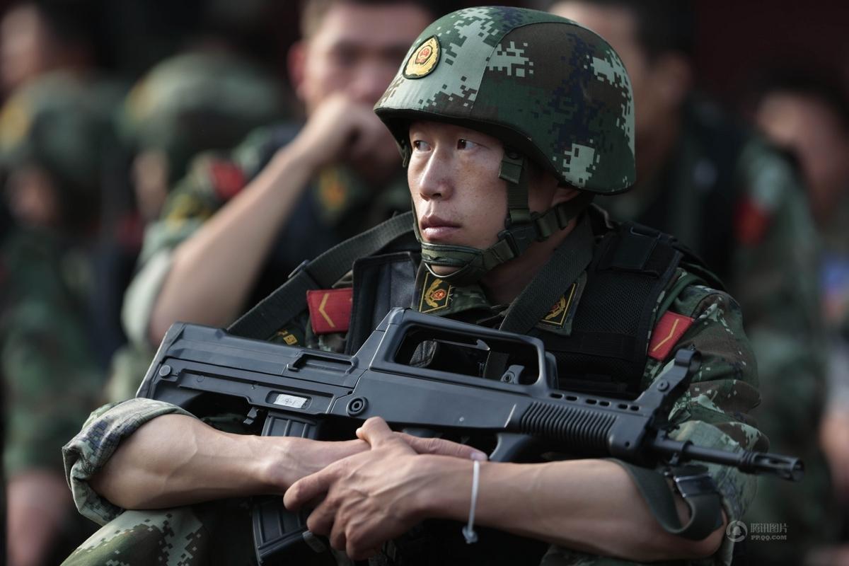 600特战精英备战APEC - 军心飞扬 - 军心飞扬