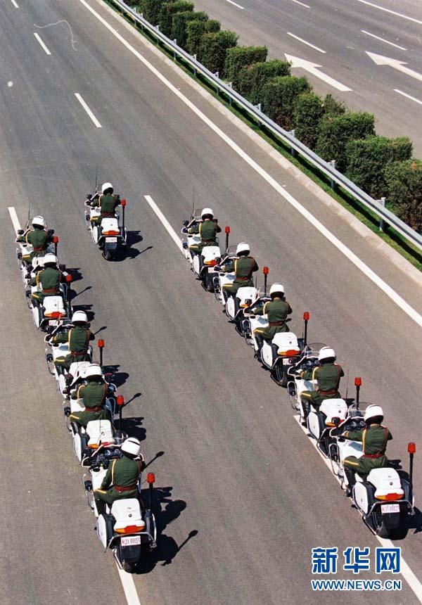 12年前国宾护卫队画面曝光 - 军心飞扬 - 军心飞扬